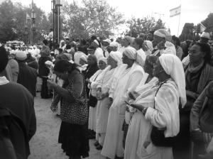 Ethiopian Jews at Hag HaSigd in 2011