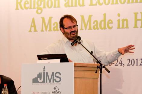 Jerusalem Institute for Market Studies conference, 2010