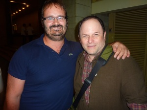 With the author (Seth J. Frantzman)