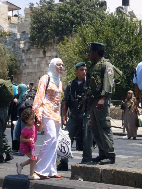 Clashes in E. Jerusalem in 2006 (Seth J. Frantzman)