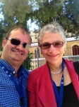 With Melanie Phillips at a Jewish media summit