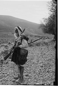 "A Palestinian Fellah or ""peasant"", 1890 (Library of Congress)"