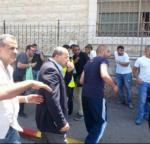 Ahmed Tibi and I dodge flash-bangs in Shuafat