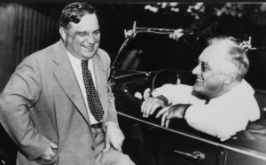 FDR and La Guardia in the 1930s
