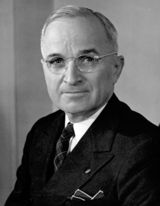 Harry Truman (Wikimedia Commons)