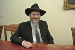 Chief Rabbi Berel Lazar (Seth J. Frantzman)