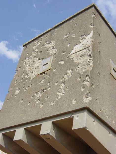 A pillbox at Safed (Seth J. Frantzman)