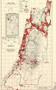 In 1946 the JNF and PLDC had bought up part of Palestine, by 1950 more than 93% of the land was in the government's hands
