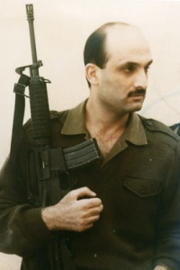 Samir Geagea during the Civil War