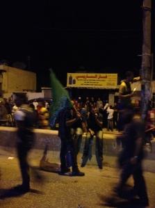A Hamas flag