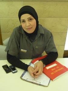 Mcdonalds employees many Arabs, including women as managers
