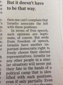 Alexander Yacobson talks about free speech