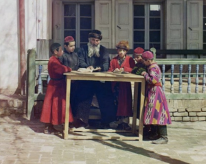 Jews in Samarkand in 1910 in the Soviet Empire