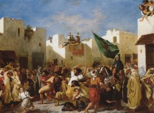 Delecroix's 'fanatics of Tangier'