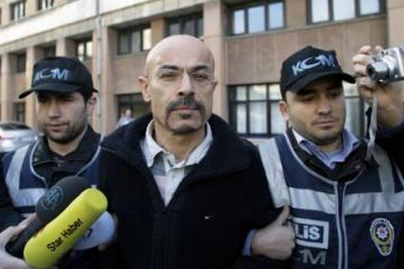 Sonmez being detained