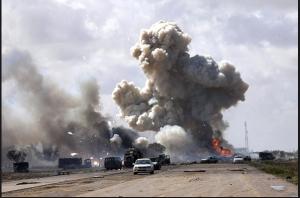 A US airstrike in Libya