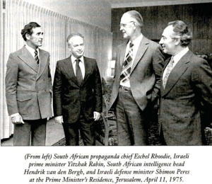 The 'good old days' of South Africa-Israel relations