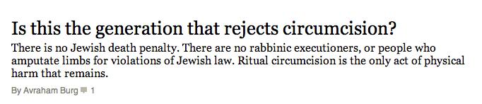 Ritual unhappiness
