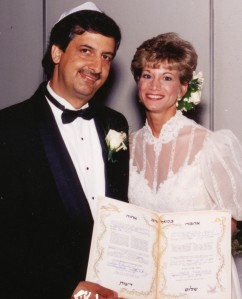 Ray Hanania and his wife