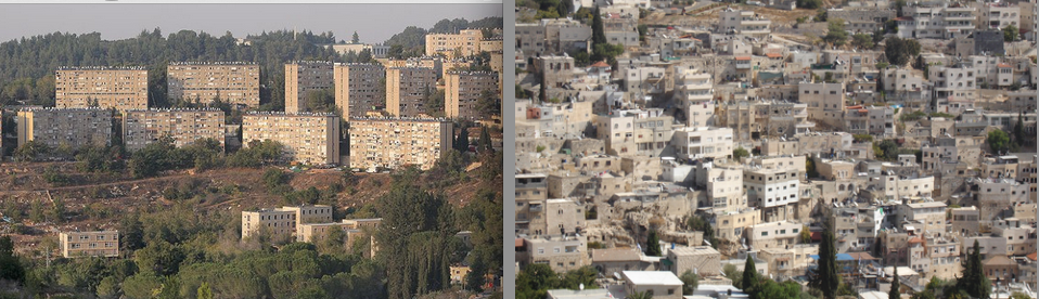Kiryat Yovel and Silwan