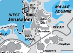 """Somewhere near Jebel Mukaber"""