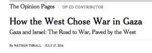 Screenshot of headline