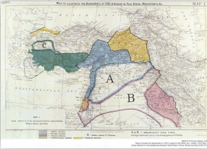 Sykes-Picot caused current Mid-East problems
