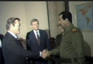 Rumsfeld and Saddam
