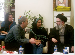 Jewish rabbis meet with Ayatollahs