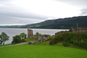 Urqhart castle on Loch Ness (Seth J. Frantzman)