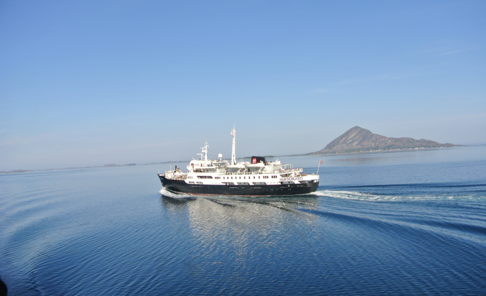 The Hurtigurten cruise line (Seth J. Frantzman)