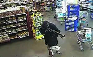 One of the al-Shabab terrorists seen in a CCTV footage from the attack