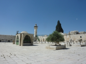 Al-Aqsa on the Temple Mount