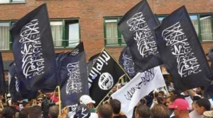 ISIS flags in Denmark