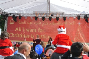 Christmas festivities in Bethlehem