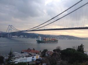 A modern country; Istanbul's second bridge