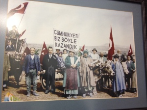 There is a lot of nostalgia for Turkey's past on display (Seth J. Frantzman)