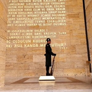 The Mausaleum of Ataturk (Seth J. Frantzman)