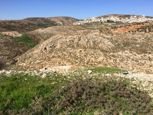 The rolling hills of the West Bank are biblical