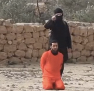 The latest ISIS outrage, a Syrian is murdered (screenshot)