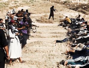 ISIS murdering Shia in Iraq
