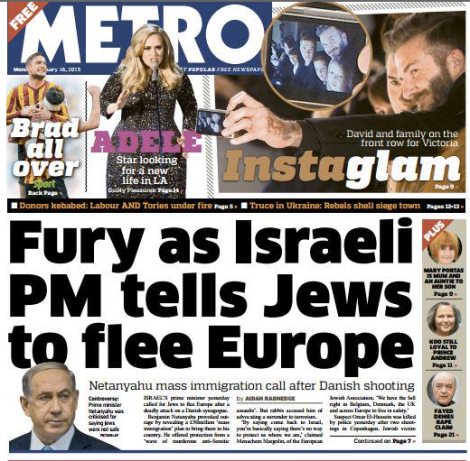 The cover of Metro