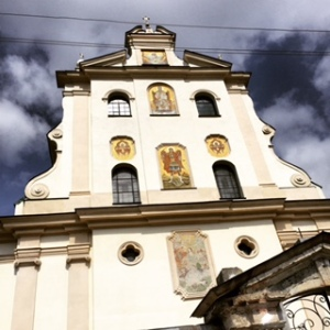 A Dominican church in Zhovkva from the Polish era (Seth J. Frantzman)