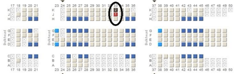 """Hunting for the elusive """"golden seat"""" in economy"""