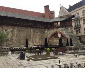 The old Jewish quarter