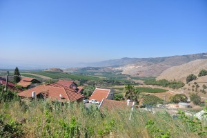 A view of the northern Galilee, each community and school is segregated (Seth J. Frantzman)