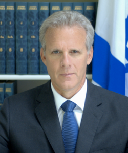 Former Israeli Ambassador Michael Oren, now a member of Kulanu