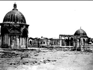 The Temple Mount in the 19th century