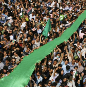 Protests in 2009 in Tehran