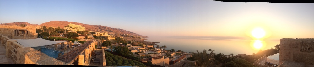 A view of the Dead Sea from the Movenpick (Seth J. Frantzman)